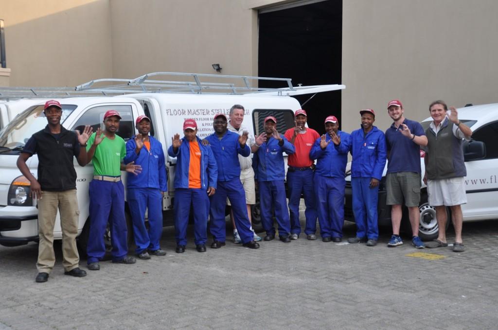 Floor Master Stellenbosch Team