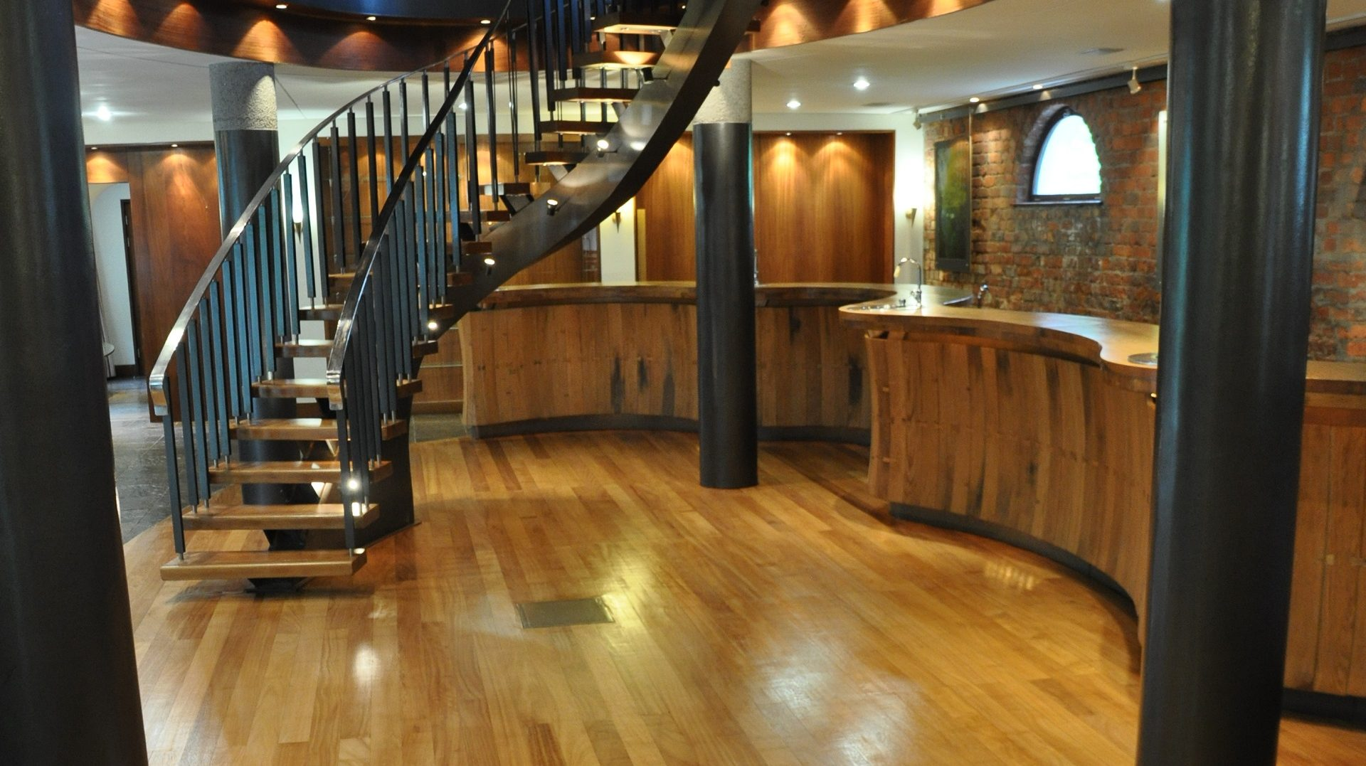 Installation of new Solid wood flooring