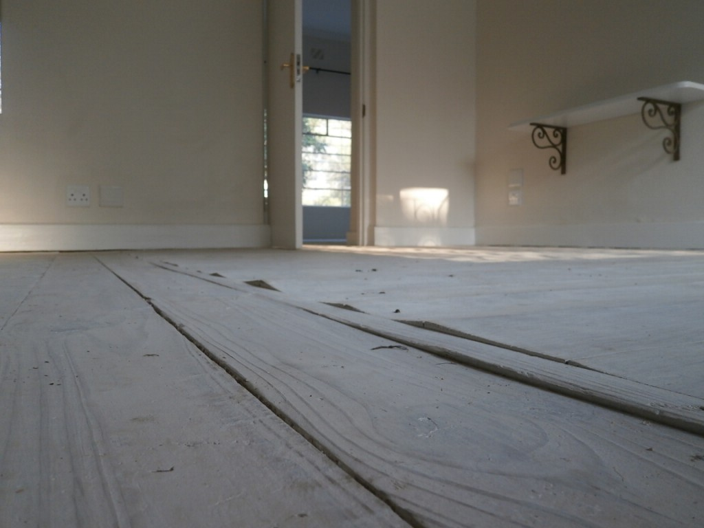 sa pine floor that cupped before
